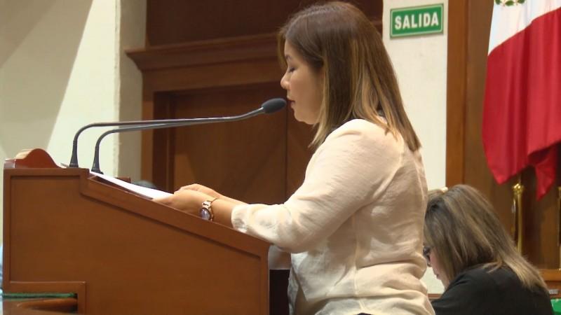 Rechaza diputada Cecilia Covarrubias haber sido presionada para un soborno