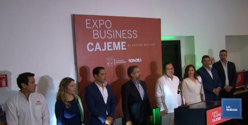 Inaugura Alcalde Expo Business en Cajeme
