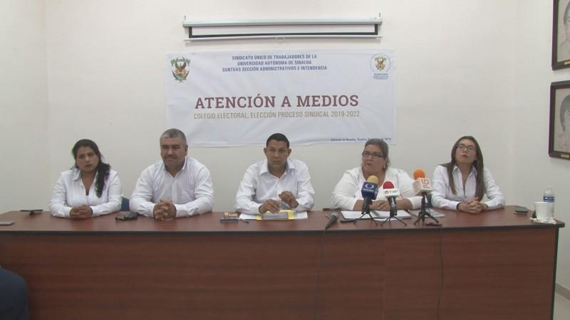 Denuncia Colegio Electoral del Suntuas Administrativos intromisión de diputados en el proceso