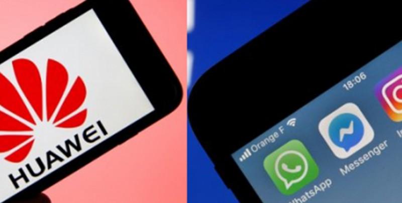Facebook suspende aplicaciones en teléfonos Huawei