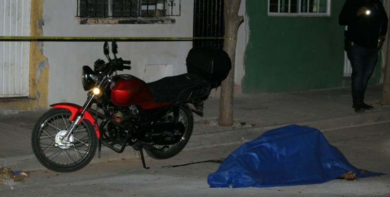 Asesinan a persona en la comunidad de Caimanero