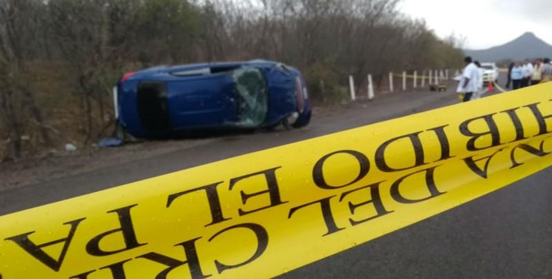 Se reporta accidente de tránsito en autopista de Mocorito