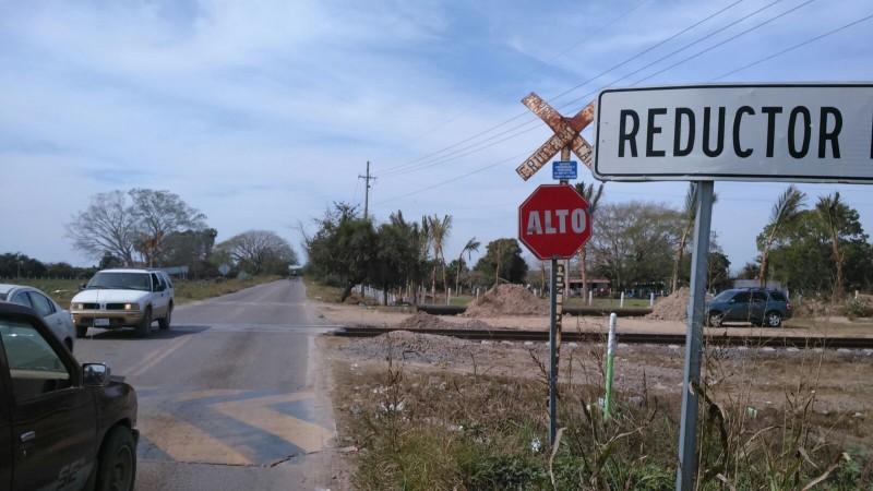 Aplicarán Plan B en cruces ferroviarios de Mazatlán