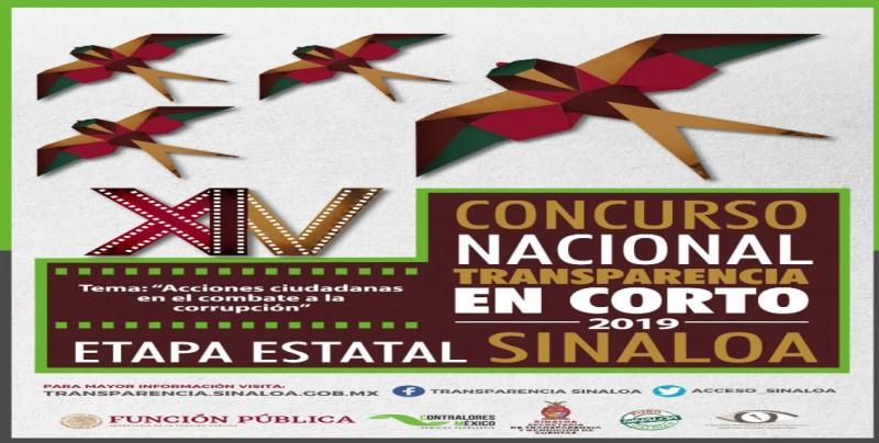 Invitan a participar en el Concurso Nacional Transparencia en Corto 2019