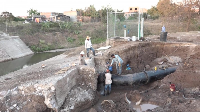 Se prolonga desabasto de agua afectando a todo Mazatlán