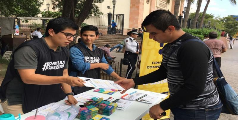 Lanzan la campaña #CirculaSeguro