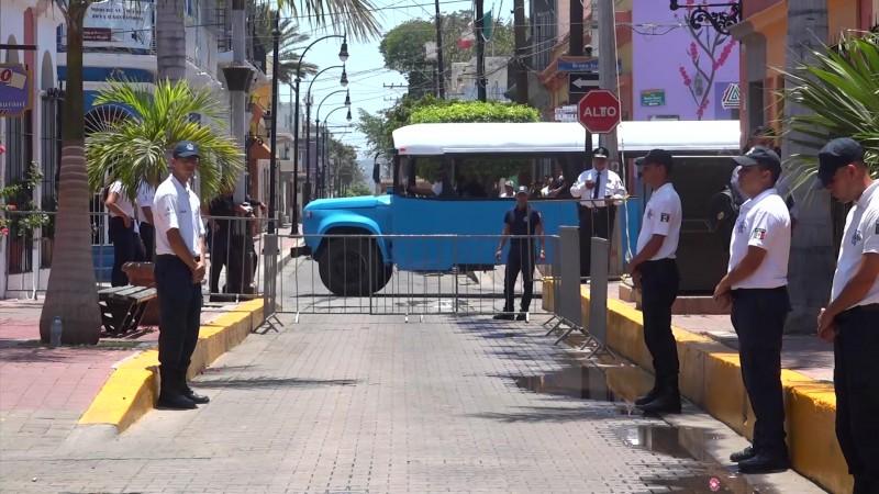 'Blindan' la Machado en Mazatlán por visita de Beatriz Gutiérrez