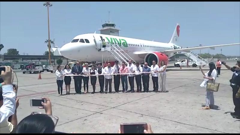 Inauguran el vuelo Tijuana-Mazatlán-Tijuana de Viva Aerobús