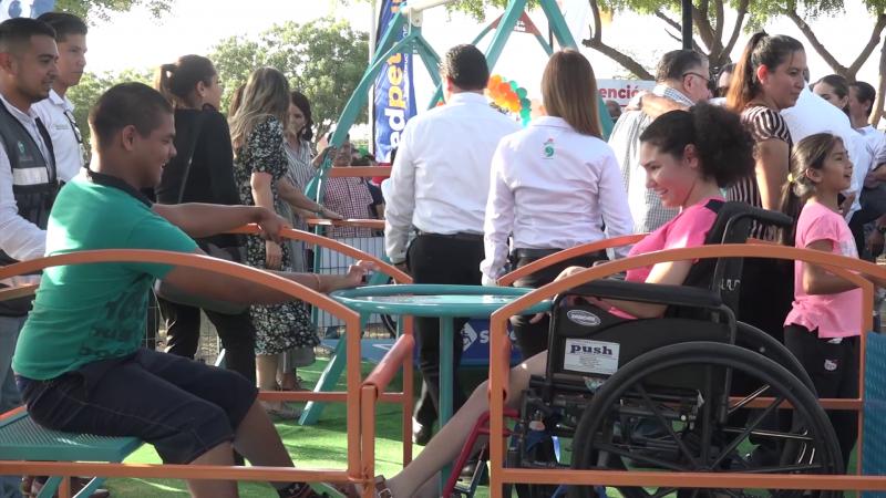 Inauguran parque incluyente en Mazatlán