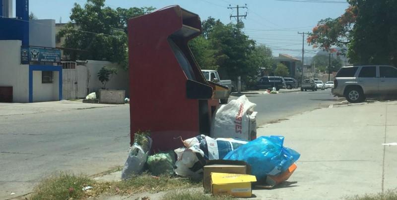 Desde hace tres días no pasa el camión recolector de la basura