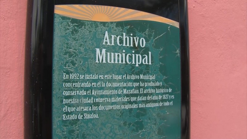 Cambiará de sede el Archivo Histórico de Mazatlán