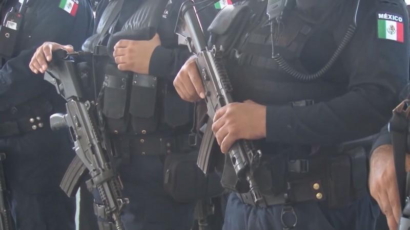 Inconformidad por bajo incremento en salario a policías de Culiacán