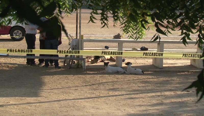 Un hombre murió mientras se ejercitaba en los campos de la Sahop