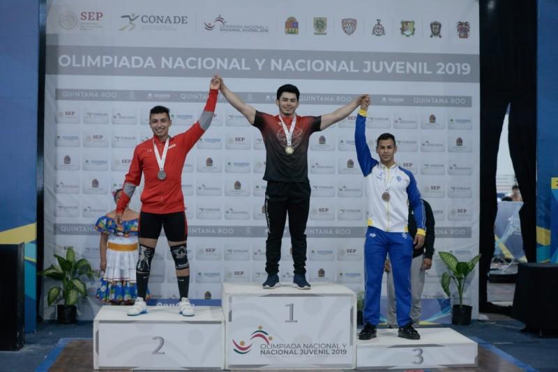 Sinaloa cierra con 17 medallas en Levantamiento de Pesas en la Olimpiada Nacional 2019