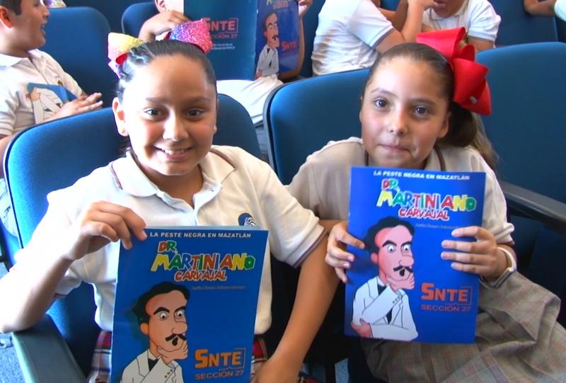 """Presentan libro """"Dr. Martiniano Carvajal. La peste negra en Mazatlán"""""""
