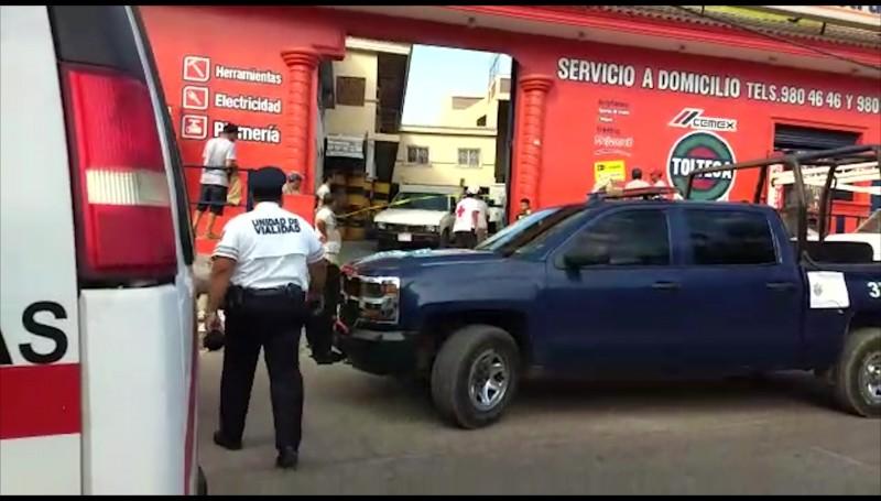 Un muerto y un herido en ataque a balazos en la Colonia Mazatlán 3