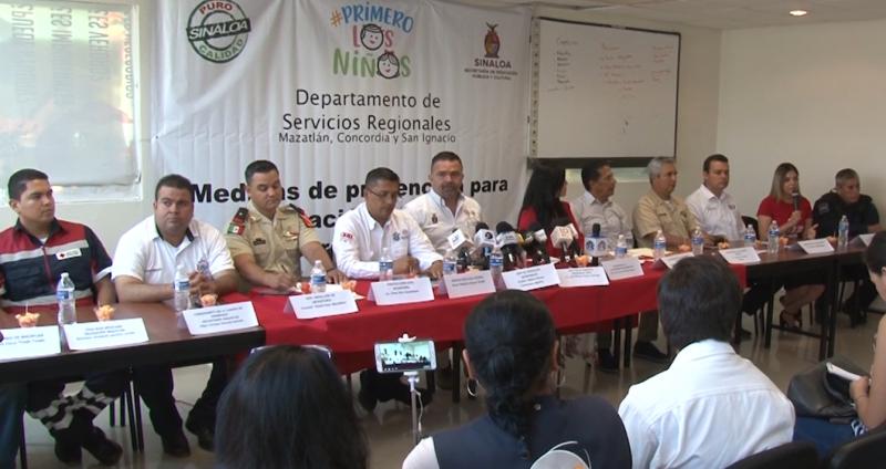 SEPyC y cuerpos de auxilio firman convenio para prevenir y estar alerta ante inundaciones en escuelas de nivel básico