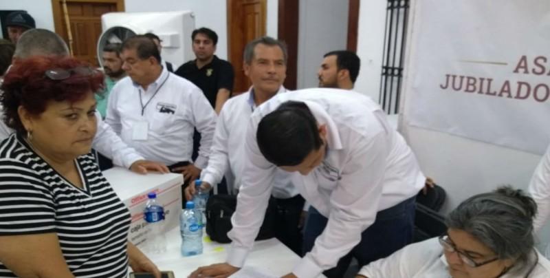 Dolores Amalia López  gana la Secretaría de Jubilados y Pensionados del SUNTUAS