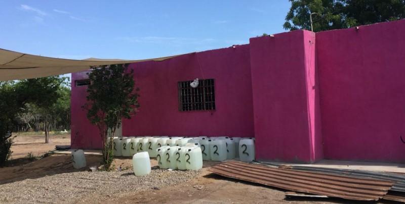 Ubican narcolaboratorio en Alcoyonqui