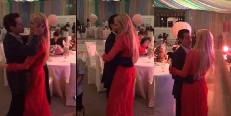 VIDEO: Enrique Peña bailando como nunca con su actual pareja