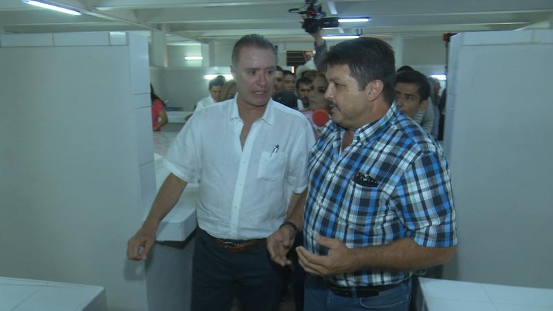 Gobernador supervisó avances de mercado en El Fuerte