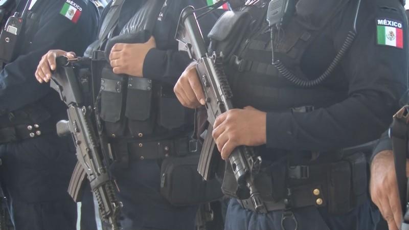 Por capacitarse elementos de la Policía Federal para implementar la Guardia Nacional