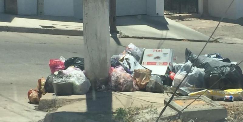 No ha pasado el camión de la basura en la calle Cerro de los Pilares