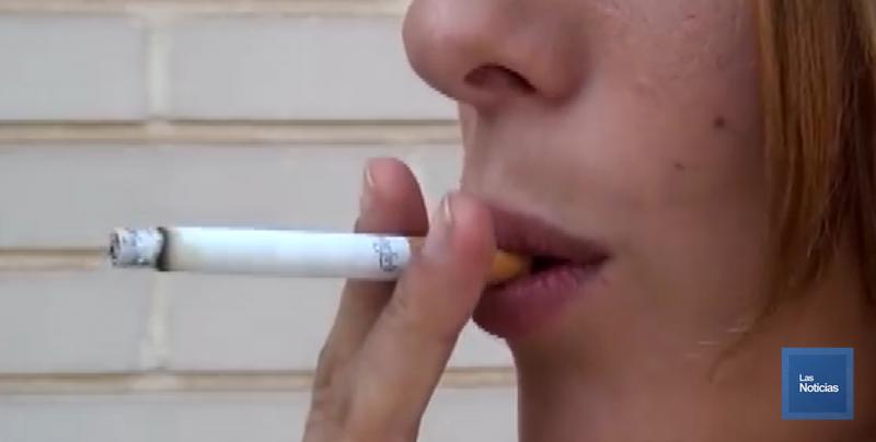 Detectan aumento de consumo de tabaco en población femenina adolescente