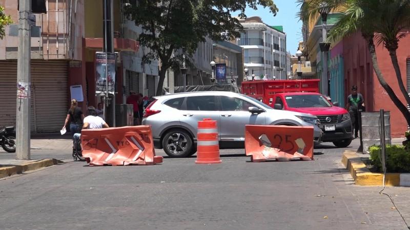 Reprueban cierre de calles por Plan Municipal de Desarrollo