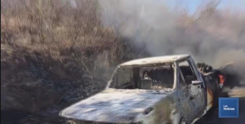 Se reportan daños por incendio en vehículos e impactos de bala en viviendas