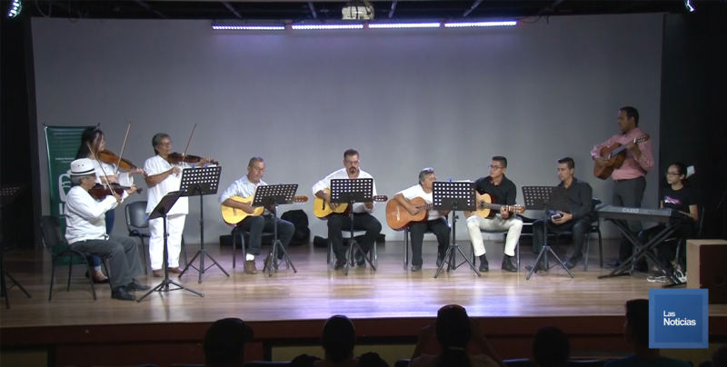 Cierra personal del IMSS taller musical