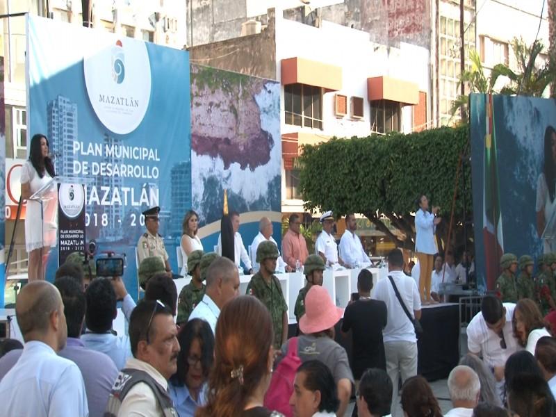 Presentan Plan Municipal de Desarrollo 2018-2021