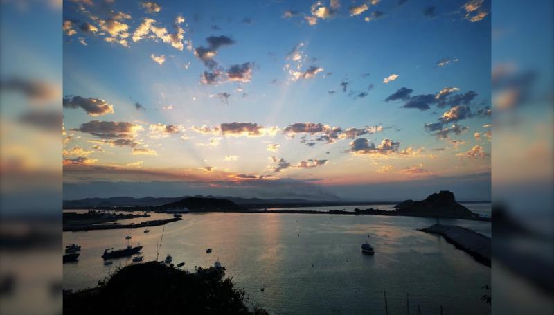 Día a día captura bellos amaneceres