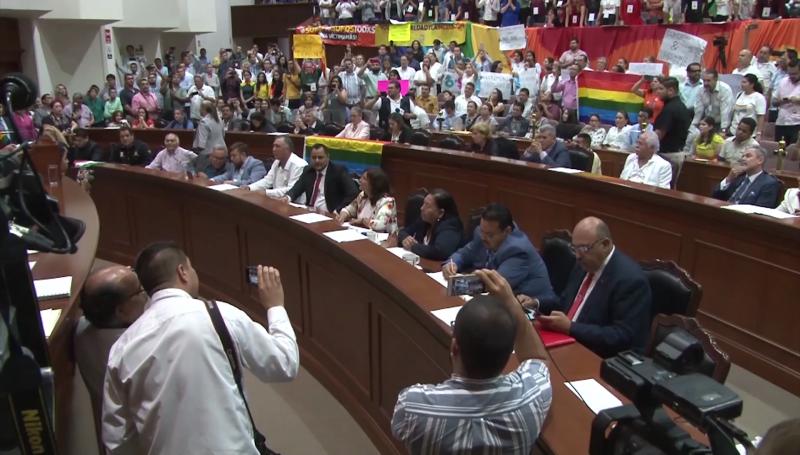 Matrimonio igualitario un tema espinoso en el Congreso: Cuén