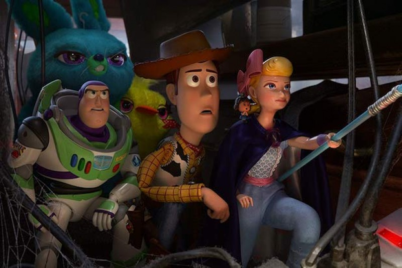 Toy Story 4 arrasa  en cines