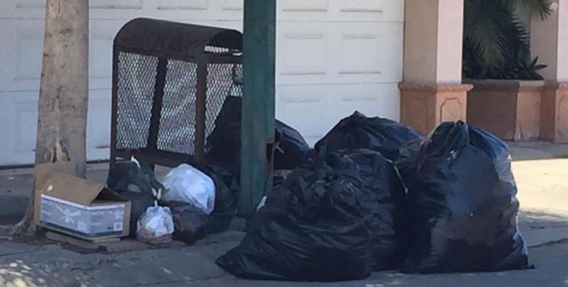 Colinas del Rey afectada con el servicio de recolección de basura