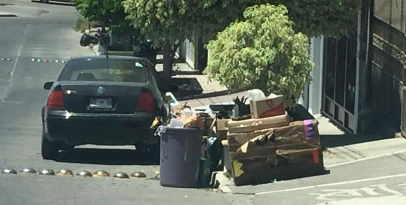 En Fraccionamiento Loma Linda no pasa el camión de la basura desde el sábado