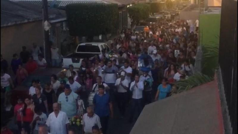 Celebran al Santo Patrono de Villa Unión