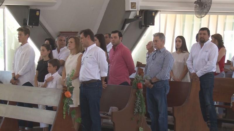 En medio de amenazas e incertidumbre, celebran el Día del Agricultor con misa en La Lomita