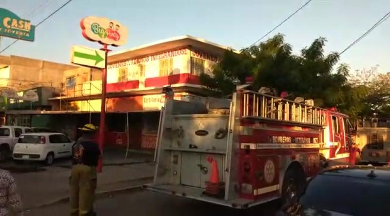 Nuevamente se registra incendio en Centro de Rehabilitación