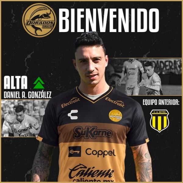 Daniel González se suma a Dorados