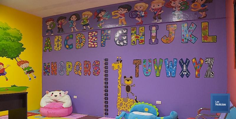 Ya luce el colorido la Estancia Infantil para Niños Migrantes