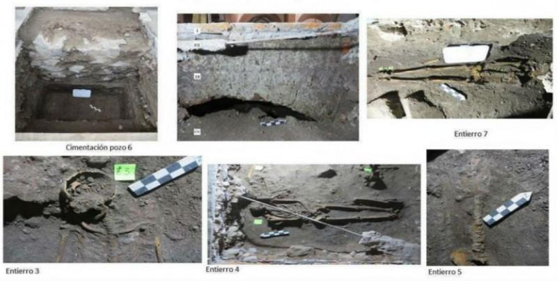 Hallan vestigios prehispánicos y coloniales en Biblioteca Nacional de México
