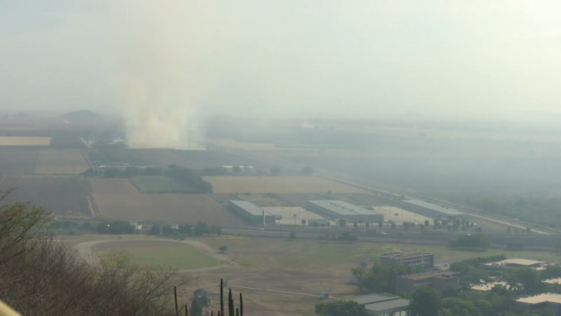 Continua la lucha contra la quema de soca en Ahome