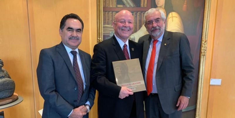 5 de septiembre la UAS entregará Honoris Causa a  Rector de la UNAM
