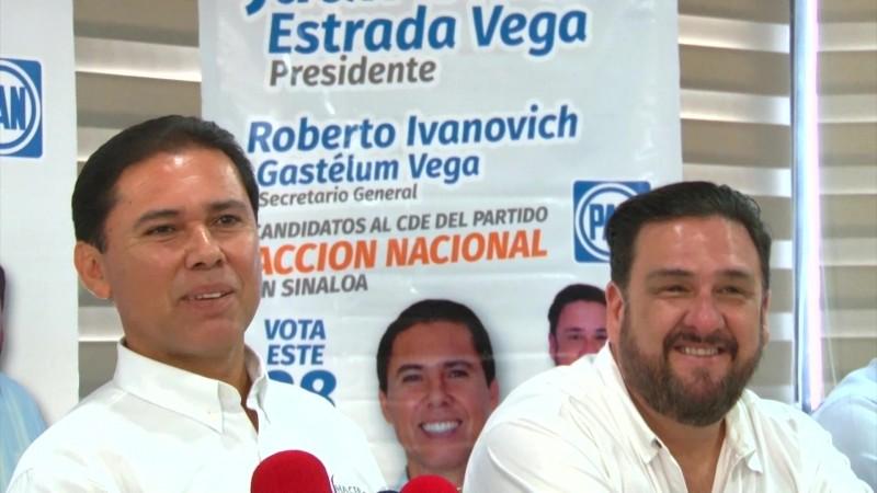Quiere Juan Carlos Estrada restructurar al PAN en Sinaloa