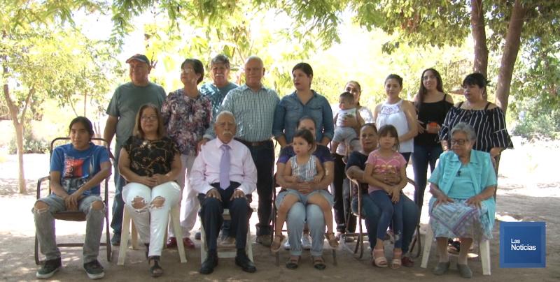 Rodeado de su familia, Don Francisco llega a sus cien años de vida