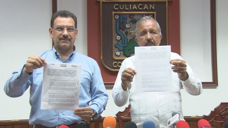 Firma Ayuntamiento de Culiacán convenio con FONACOT