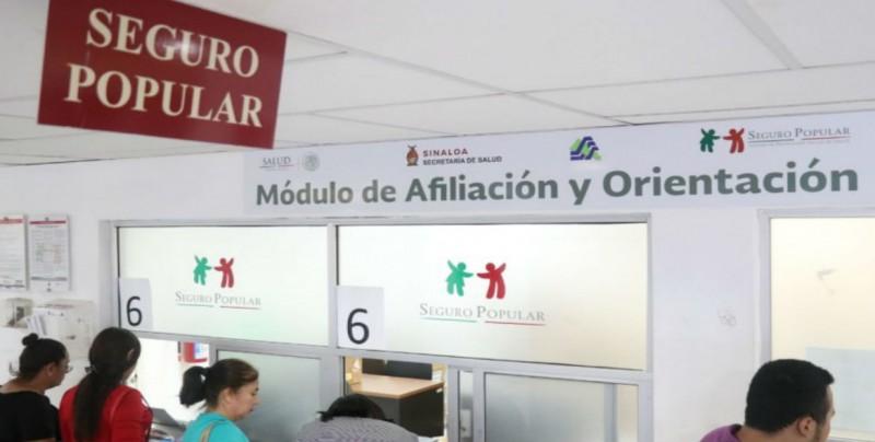 Aumenta afiliación del Seguro Popular en Sinaloa