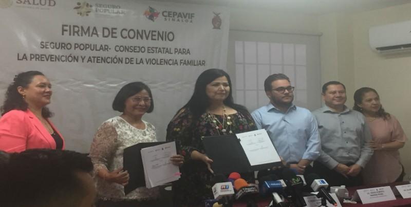 Convenio entre CEPAVIF y Seguro Popular